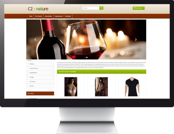Responsive Template Color c2 nature